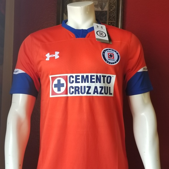 14190540e50 CRUZ AZUL THIRD 2018 soccer jersey. NWT. Under Armour